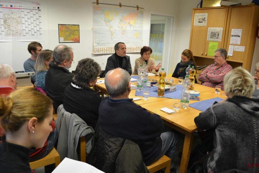 Gespräch beim AK Asyl Kirchheim