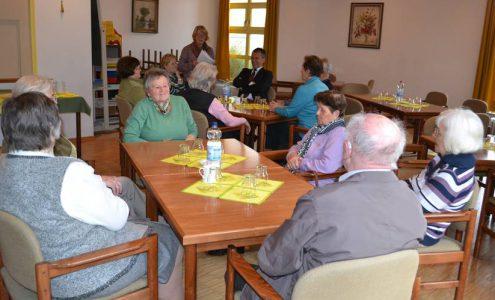 zu Besuch bei den Landfrauen in Frickenhausen