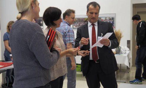 Gesundheitstag von Leuze electronic in Owen