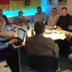 im Gespräch mit dem Vorstand der CDU Nürtingen