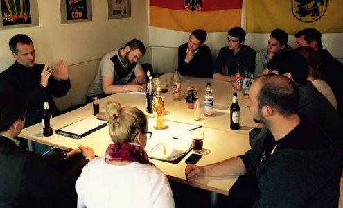 Politische Diskussion der JU Nürtingen und Kirchheim mit Michael Hennrich