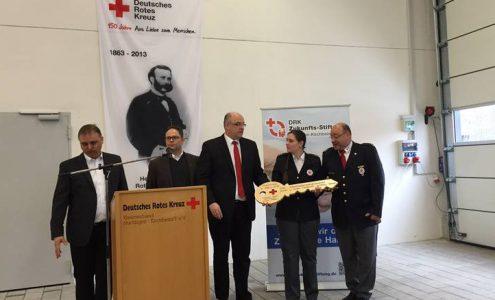 Einweihung des neuen DRK-Katastrophenschutzzentrums in Owen