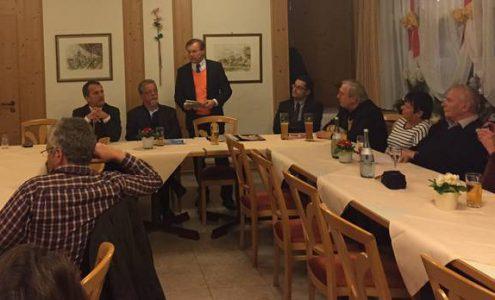 Politischer Abend der CDU Waldenbuch mit Michael Hennrich und Paul Nemeth