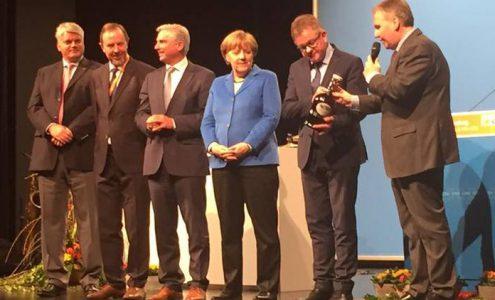 Bundeskanzlerin Dr. Angela Merkel zu Besuch in Nürtingen